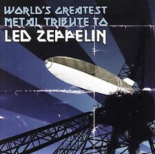 World's Greatest Metal Tribute To Led Zeppelin by Various Artists (CD,...