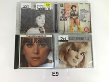 LOT OF 4 CD'S  DUSTY SPRINGFIELD CILLA BLACK JACKIE DeSHANNON NANCI GRIFFITH E9