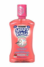 Listerine Kids Smart Rinse Mild Berry Mouthwash for Healthy Teeth 250ml 8.8fl oz
