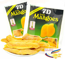 New Stock! 7D DRIED MANGOES Cebu Product Delicious Best Tasting 80g -USA Seller!