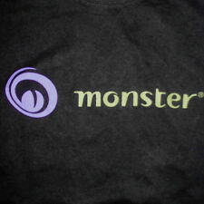 Monster Worldwide T-Shirt XL Defunct Logo Job Website Employment Internet Tech