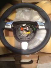 Porsche 997 Boxster Cayman Steering Wheel Sea Blue Leather - New
