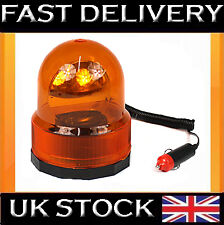 12 VOLT BREAKDOWN REVOLVING ROTATING WARNING AMBER BEACON RECOVERY LIGHT
