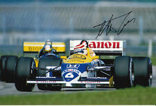 Nelson Piquet Hand Signed Williams Photo 12x8 1.