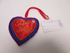 Super Dad Love Heart Stocking Filler Sentimental Keepsake Present Gift #5F18