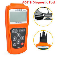 "Portable 3""LCD Display AC619 OBDII OBD2 Car Diagnostic Scanner Tester Kit ELM327"