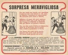 W1608 Chinina Migone - Sorpresa meravigliosa - Pubblicità del 1927 - Old advert