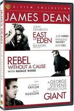 JAMES DEAN TRIPLE EAST OF EDEN REBEL WITHOUT A CAUSE GIANT DVD  R4/1