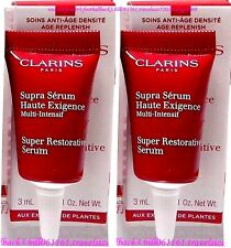 "[Clarins] 2x ""Super Restorative Serum"" (3ml/0.1oz) Exp:2017 F/POST! Value:$32"