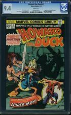 HOWARD THE DUCK # 1  US MARVEL 1976  Frank Brunner  CGC 9.4 NM+