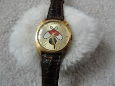 """Vintage Wind Up """"Bowling"""" Watch"""