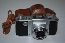 Asahiflex IIa Vintage Japanese SLR Camera & Takumar 3.5/50 Lens. 74397. UK Sale