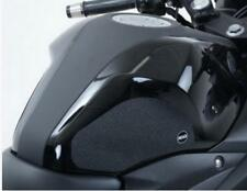 R&G BLACK 'EAZI-GRIP' FUEL TANK TRACTION GRIPS for YAMAHA MT-25, 2015 to 2016