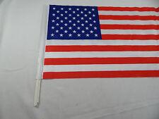 "DAMAGED - USA  Bandera Car Window Flag Lot (250) Sale 12""x18"""