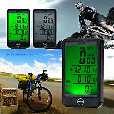 NEW WIRELESS BICYCLE CYCLE COMPUTER BIKE SPEEDOMETER SPEEDO