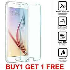 Genuine Tempered Glass Anti Shock LCD Screen Protector for Samsung Galaxy S6
