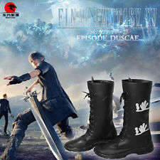DFYM Final Fantasy 15 FF15 Noctis Lucis Cosplay Shoes Boots Custom Made