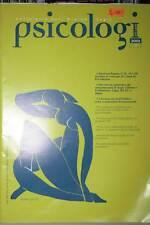 NOTIZIARIO DELL'ORDINE DEGLI PSICOLOGI DEL LAZIO RIVISTA USATA BUONO GD1 44061