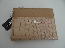 GUESS Womens Nude Kingville Slg Bifold Small Wallet Free Shipping SALE G6480594