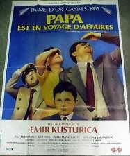 PAPA EST EN VOYAGE D'AFFAIRES - Kusturica AFFICHE 120x160/47x63 FRENCH POSTER RR