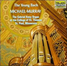 Michael Murray - The Young Bach (CD, May-1989, Telarc Import, AMD) Gabriel Knev