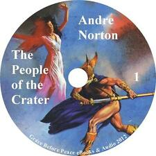 The People of the Crater, Andre Norton Sci-Fi Audiobook unabridged on 1 MP3 CD