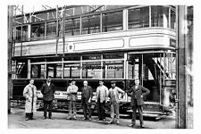 pt3726 - Holme Lane Tram Depot , Hillsborough , Sheffield Yorkshire - photo 6x4