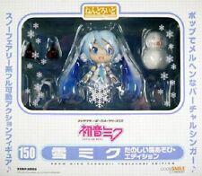 Used Good Smile Company 150 Nendoroid Snow Miku Snow Playtime Edition