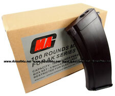 MAG 100round Magazine for AK-74 Airsoft AEG Plasctic Plum (5pcs boxset)