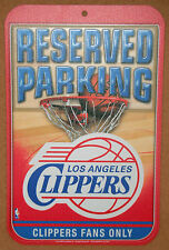 New NBA Los Angeles Clippers Basketball Reserved Parking Fans Only Sign 11x17 3