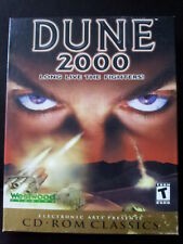 Dune 2000 Westwood Studios EA PC Game CD ROM Classics Collectible Box