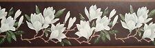 Brewster  Wallcovering Decorative White Flower  Wallpaper Border