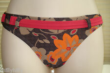 Fat Face Candidasa Floral Bikini Briefs/Bottoms with Belt Size 8 BNWT