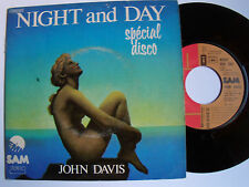 JOHN DAVIS & the MONSTER ORCHESTRA : Night & day (COLE PORTER) - SP France 1976