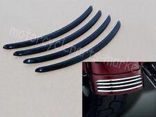 Gloss Black Rear Fender Accent for 2006-2013 Harley Davidson FLHX FLRTX