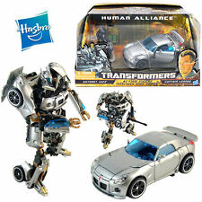 HASBRO TRANSFORMERS AUTOBOT JAZZ CAR ACTION FIGURES ROBOT CAPTAIN LENNOX KID TOY