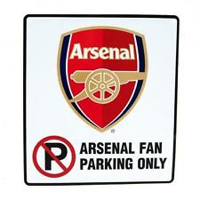 Arsenal Fc No Parking Sign Fan Only Football Humour Team Soccer Club Car New