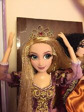 "Disney Store Japan Tangled Rapunzel Crown Tiara Hair Clip fits 12"" Designer Doll"