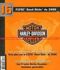 HARLEY DAVIDSON FLTRI 1450 Road Glide 2000 ; HD V-Twin 2ème Génération MOTO