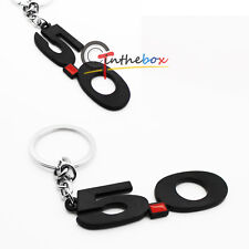 Black Finish number 5.0 Key Chain Fob Ring Keychain For Mustang GT 500 Cobra