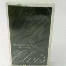 SEALED various artists ELVIS PRESLEY tribute IT'S NOW OR NEVER cassette tape