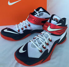 Nike Zoom Soldier VIII 8 Lebron James 653641-114 Basketball Shoes Men's 10.5 new