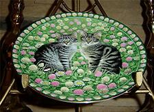 Lesley Anne Ivory MEET MY KITTENS May Calender Cat Plate