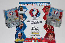 Panini ROAD TO UEFA EURO 2016 France – 100 TÜTEN PACKETS sobres + ALBUM, RARE!