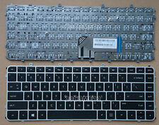 NEW for HP Envy Sleekbook 4-1115dx 6-1010us 6-1014nr Keyboard US Silver Frame