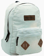 SUPERDRY 2017 Montana Washed Denim Backpack LAPTOP Shoulder Bag Rucksack SALE!