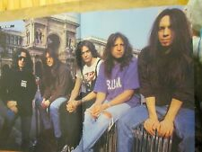 Skid Row, Two Page Vintage Centerfold Poster