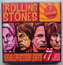 ROLLING STONES  50 & Counting Tour 2012  11CD + 1 DVD  Box Set