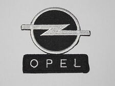 MOTORSPORTS RACING CAR SEW ON / IRON ON PATCH:- OPEL (a)