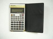 Vintage Sharp EL-506P Scientific Calculator and Case Japan